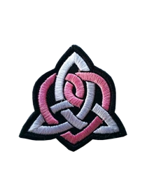 Iron on Embroidered Patch/Badge